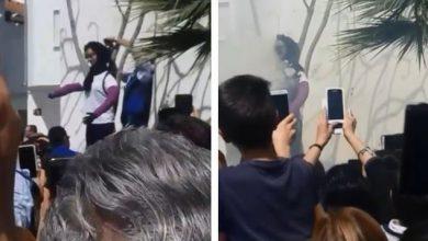 Photo of En España queman muñeco con la figura de la dominicana que mató niño