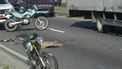 Photo of Patana arrolla motorista en la avenida George Washington