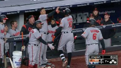 Photo of Con cuadrangular de Adam Jones, Orioles remontan y ganan en N.Y.