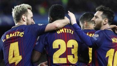 Photo of El Barcelona pone un pie y medio en las semifinales de la Liga de Campeones