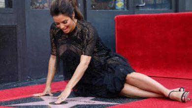 Photo of Eva Longoria recibe su estrella en el Paseo de la Fama de Hollywood