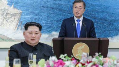 Photo of Kim y Moon escenifican un emotivo primer paso hacia la reconciliación