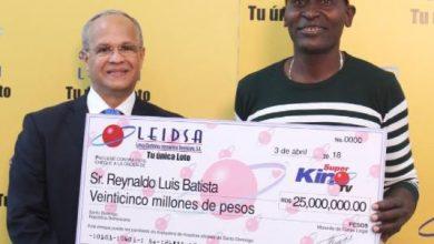 Photo of Maestro constructor se saca RD$25 millones en el «Súper Kino» de la Loto