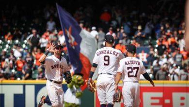 Photo of Astros completan remontada y barrida ante los Orioles