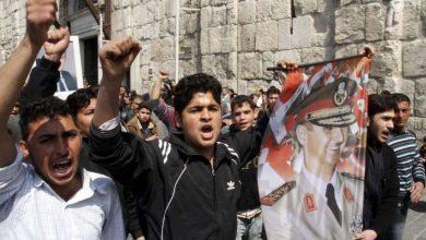Photo of Sirios salen a calle en Damasco en apoyo a ejército de Bashar Assad tras ataque de EEUU y aliados