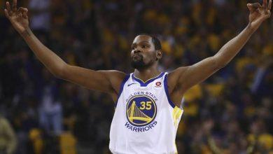 Photo of Durant, Green y Thompson guían a Warriors a 2da ronda de playoffs