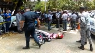 Photo of Matan de un tiro motorista en Los Jardines del Norte; dicen estaba atracando
