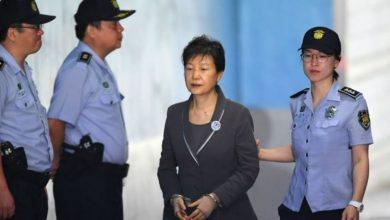 Photo of Condenada a 24 años de cárcel la expresidenta de Corea del Sur