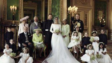 Photo of El Palacio de Kensington comparte fotos familiares de la boda real