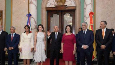 Photo of La reina Letizia fue recibida en el Palacio Nacional