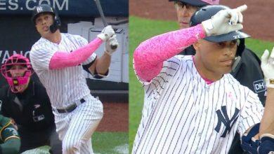 Photo of Stanton y Severino se lucieron para darle el triunfo a Yankees sobre Atléticos