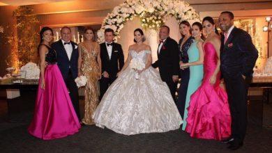 Photo of Yubelkis se convierte en la señora Peralta de Bona; se casa anoche