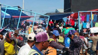 Photo of Se cae puerta del mercado fronterizo de Dajabón