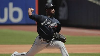 Photo of Julio Teherán lanza sin hits hasta el séptimo, Bravos barren a Mets