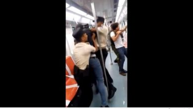 Photo of Seguridad del Metro agrede joven en confuso incidente en un vagón