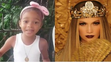 Photo of Vídeo: Niña dominicana sorprende a Jennifer López con video y ella lo comparte en sus redes