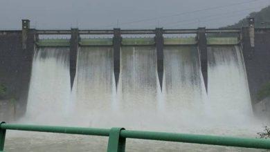 Photo of Desfogan presa de Valdesia por la gran cantidad de lluvias en la cuenca del río Nizao