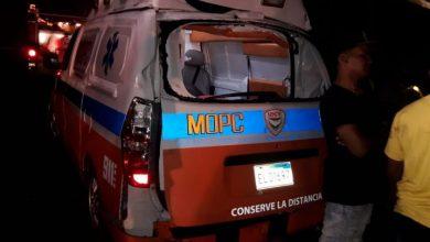 Photo of Muere conductor de ambulancia de Obras Públicas impactada por una patana