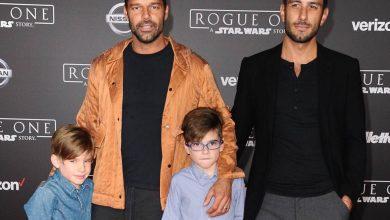 Photo of Polémica por video en el que aparecen Ricky Martin, sus hijos y pareja
