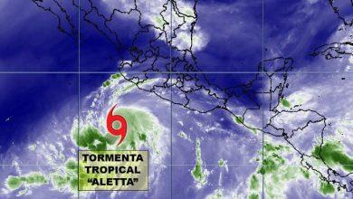 Photo of Tormenta que se formó en el Pacífico alcanza vientos de hasta 95 kilómetros por hora