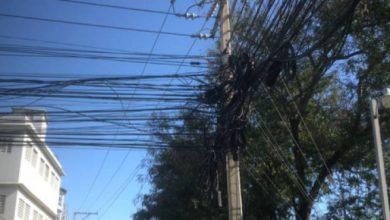 Photo of La contaminación y riesgo de las marañas de cables en la República Dominicana