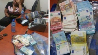 Photo of Apresan mujer con más de 100 mil euros en Los Mina