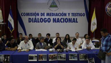 Photo of Suspenden mesas de diálogo en Nicaragua por incumplimientos del Gobierno