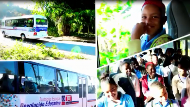 Photo of El Ministerio de Educación entrega 32 autobuses escolares