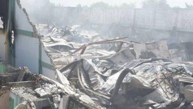Photo of Incendio destruye parte de la fábrica de colchones La Nacional