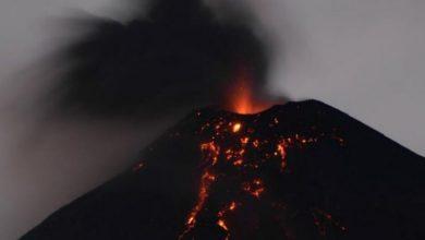 Photo of Cenizas del volcán de Guatemala podrían llegar a la frontera sur de México