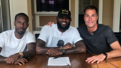 Photo of De manera oficial, LeBron se convierte en un Lakers