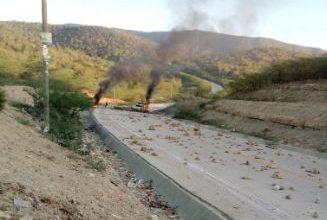 Photo of Productores agrícolas bloquean carretera en Tamayo durante protesta