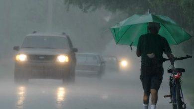 Photo of Declaran en alerta 20 provincias y el DN por lluvias; hay 12 en amarilla