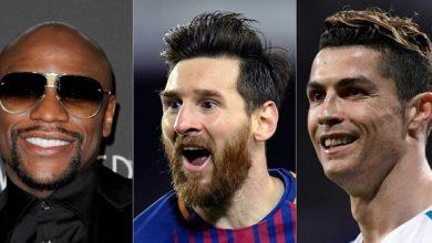 Photo of Mayweather, Messi y Ronaldo son los atletas mejores pagados del mundo según Forbes