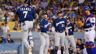 Photo of Cerveceros doblegaron a Dodgers y se acercaron a la cima