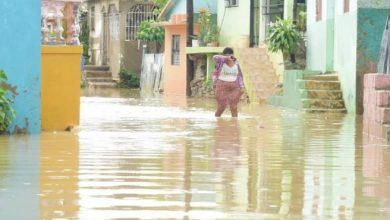 Photo of El barrio La Ciénaga, en Sabana Perdida, y Los Guandules están bajo agua
