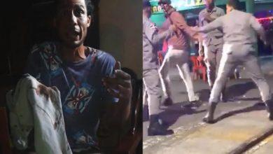 Photo of Habla el joven que recibió la golpes por parte de la Policía y esto fue lo que reveló