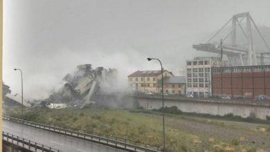 Photo of Puente se derrumba en Italia causando decenas de muertos, vehículos cayeron al vacío
