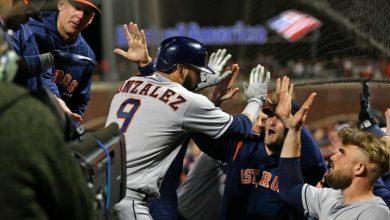 Photo of Astros hunden a Gigantes con HR de Marwin González en la 9na