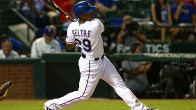 Photo of Beltré batea dos hits y remolca a los Rangers en Oakland