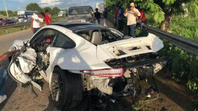 Photo of Sobrino del empresario Frank Rainieri sufre aparatoso accidente en Autovía del Este