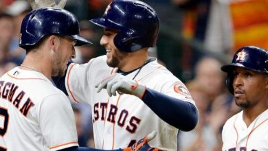 Photo of Bates de Springer, Bregman impulsaron a Astros sobre Angelinos