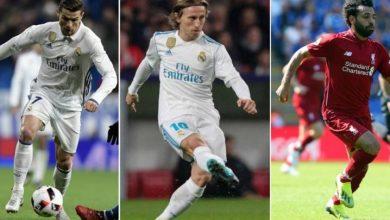 Photo of Cristiano, Modric y Salah, los tres finalistas del premio The Best a mejor jugador