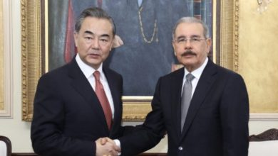 Photo of Presidente Medina se reúne con el canciller de China