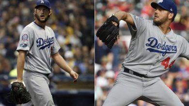 Photo of Dodgers se debaten entre Kershaw y Hill para el Juego 1 de la Serie Mundial