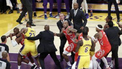 Photo of La NBA suspende a Ingram, Rondo y Paul por pelea