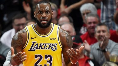 Photo of LeBron James logra 1er triunfo con Lakers