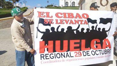 Photo of Comienza hoy paro de 24 horas en 14 provincias del Cibao