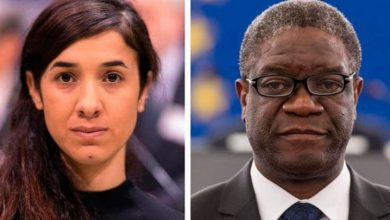 Photo of Nobel de la Paz para Mukwege y Murad por combatir violencia sexual en guerra