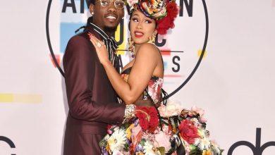 Photo of Cardi B es la artista favorita de rap/hip hop en American Music Awards
